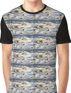 Polar Bear Mother & Cub Grooming  Graphic T-Shirt