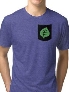 Pokemon Grass Type Pocket Tri-blend T-Shirt