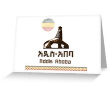 Addis Abeba Greeting Card