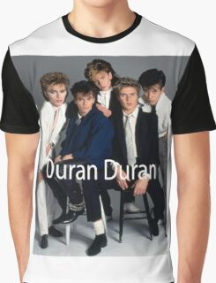 Duran Duran Vintage Cover Graphic T-Shirt