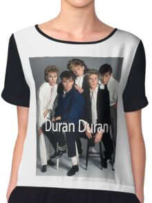 Duran Duran Vintage Cover Chiffon Top
