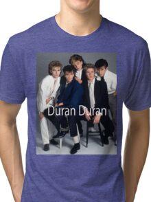 Duran Duran Vintage Cover Tri-blend T-Shirt