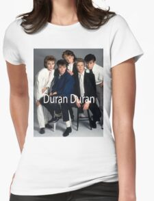 Duran Duran Vintage Cover Womens Fitted T-Shirt