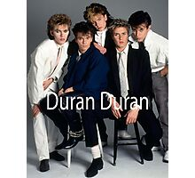 Duran Duran Vintage Cover Photographic Print