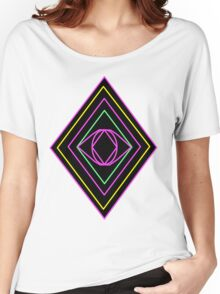 Retro Diamond Women's Relaxed Fit T-Shirt