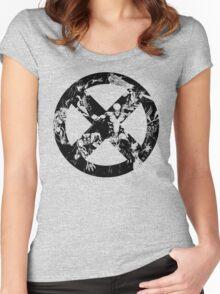 X-Men •Best Team Logo Ever  Women's Fitted Scoop T-Shirt