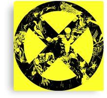X-Men •Team Up Logo Canvas Print