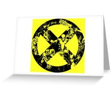 X-Men •Best Team Logo Ever  Greeting Card