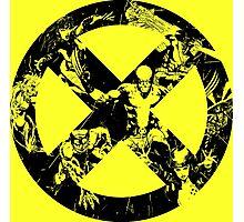 X-Men •Best Team Logo Ever  Photographic Print