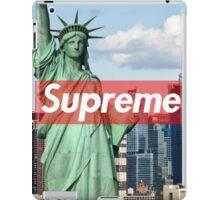 supreme nyc iPad Case/Skin