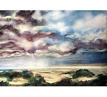 Coastal Clouds Photographic Print