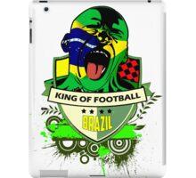 Brazil Futebol iPad Case/Skin