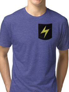 Pokemon Lightning Type Pocket Tri-blend T-Shirt