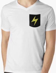 Pokemon Lightning Type Pocket Mens V-Neck T-Shirt
