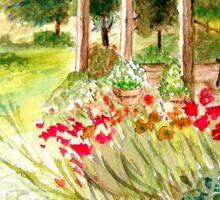 Cottage Garden Sticker