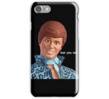 ken you not iPhone Case/Skin