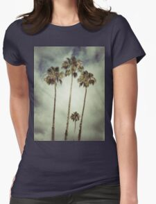 Tropic Storm Womens Fitted T-Shirt