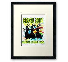Brazil Carnaval Framed Print
