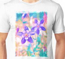 Colorado Columbine Flower Unisex T-Shirt