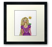 OMG My BFF Rapunzel  Framed Print