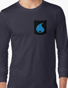 Pokemon Water Type Pocket Long Sleeve T-Shirt
