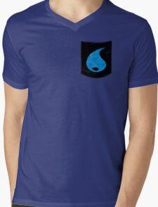 Pokemon Water Type Pocket Mens V-Neck T-Shirt