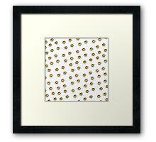 ninja turtles ice cream Framed Print