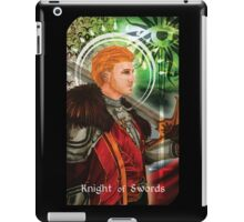 Knight of Swords iPad Case/Skin