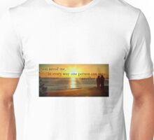 You Saved Me....By Curt Vinson Unisex T-Shirt