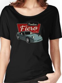 Pontiac Fiero - Vintage Women's Relaxed Fit T-Shirt
