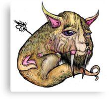 EVOLVE OF MEATBODY Canvas Print