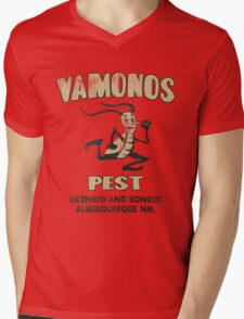 Vamanos Pest (Breaking Bad) Mens V-Neck T-Shirt