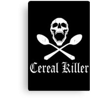 Funny Cereal Killer Canvas Print