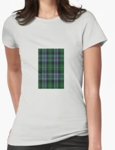 00953 Wilson's No. 166 Fashion Tartan  Womens Fitted T-Shirt