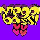 Megabass - Hearts Logo! by Kris Keogh