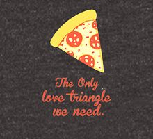 PIZZA LOVE TRIANGLE Unisex T-Shirt