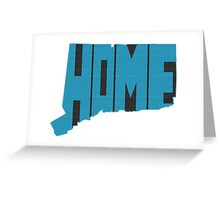 Connecticut HOME state design Greeting Card