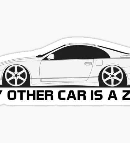 My Other Car is a z32 Sticker