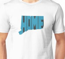 Connecticut HOME state design Unisex T-Shirt
