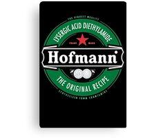 Hofmann LSD beer label Canvas Print