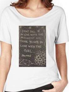 the 1975 quote  Women's Relaxed Fit T-Shirt
