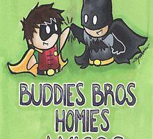 Buddies Bros Homies Amigos! by NerdyTurtly