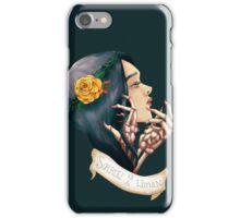 Sorrow is A Woman iPhone Case/Skin