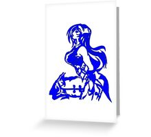 Mystic Elder Woman Greeting Card
