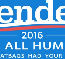"Bender 2016 ""Kill All Humans"" Sticker"