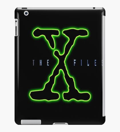 X Files iPad Case/Skin