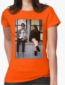 Window Seat  Womens Fitted T-Shirt