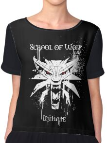 School of Wolf Initiate Chiffon Top