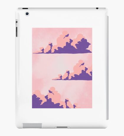 Pink Clouds Case for iPhone 5/5s/SE and iPad Retina/3/2 iPad Case/Skin