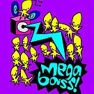 Megabass Alien Party! by Kris Keogh
